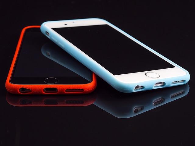 IOS chytré telefony