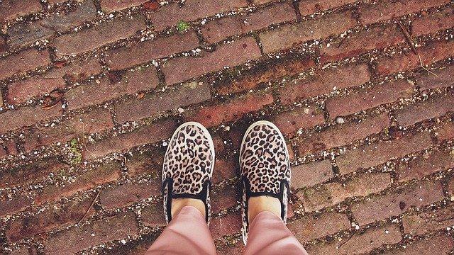 tygrované boty