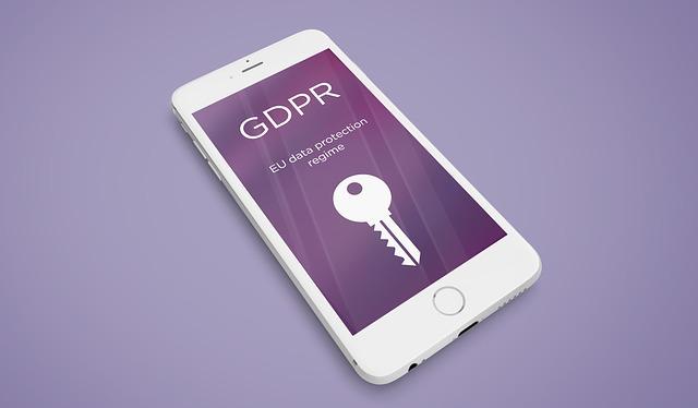 gdpr data v mobilu