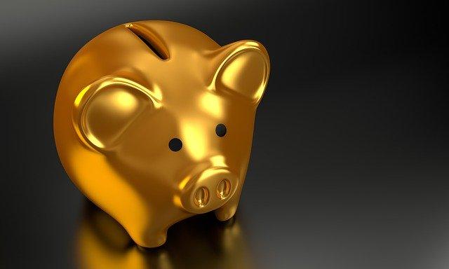 pokladnička na spoření peněz